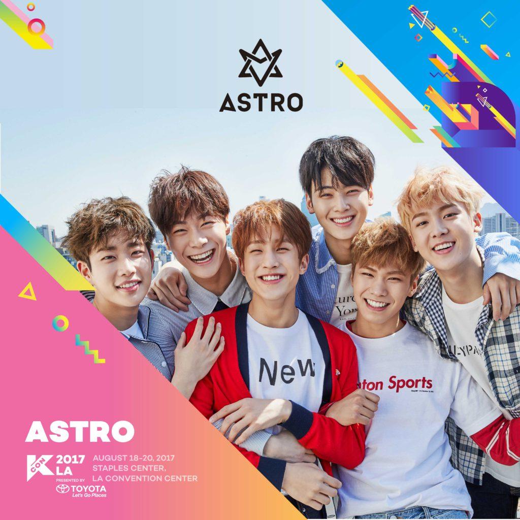 Kcon17la Astro Playlist Kcon Usa Official Site