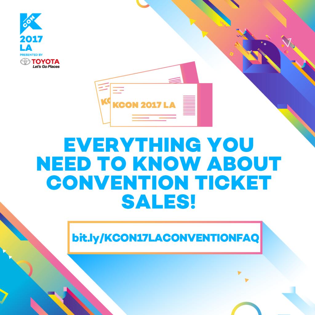 Kcon17la Convention Ticket Faq Kcon Usa Official Site