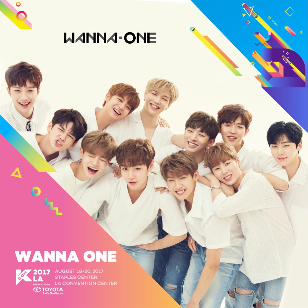 kcon17la wanna one playlist kcon usa official site