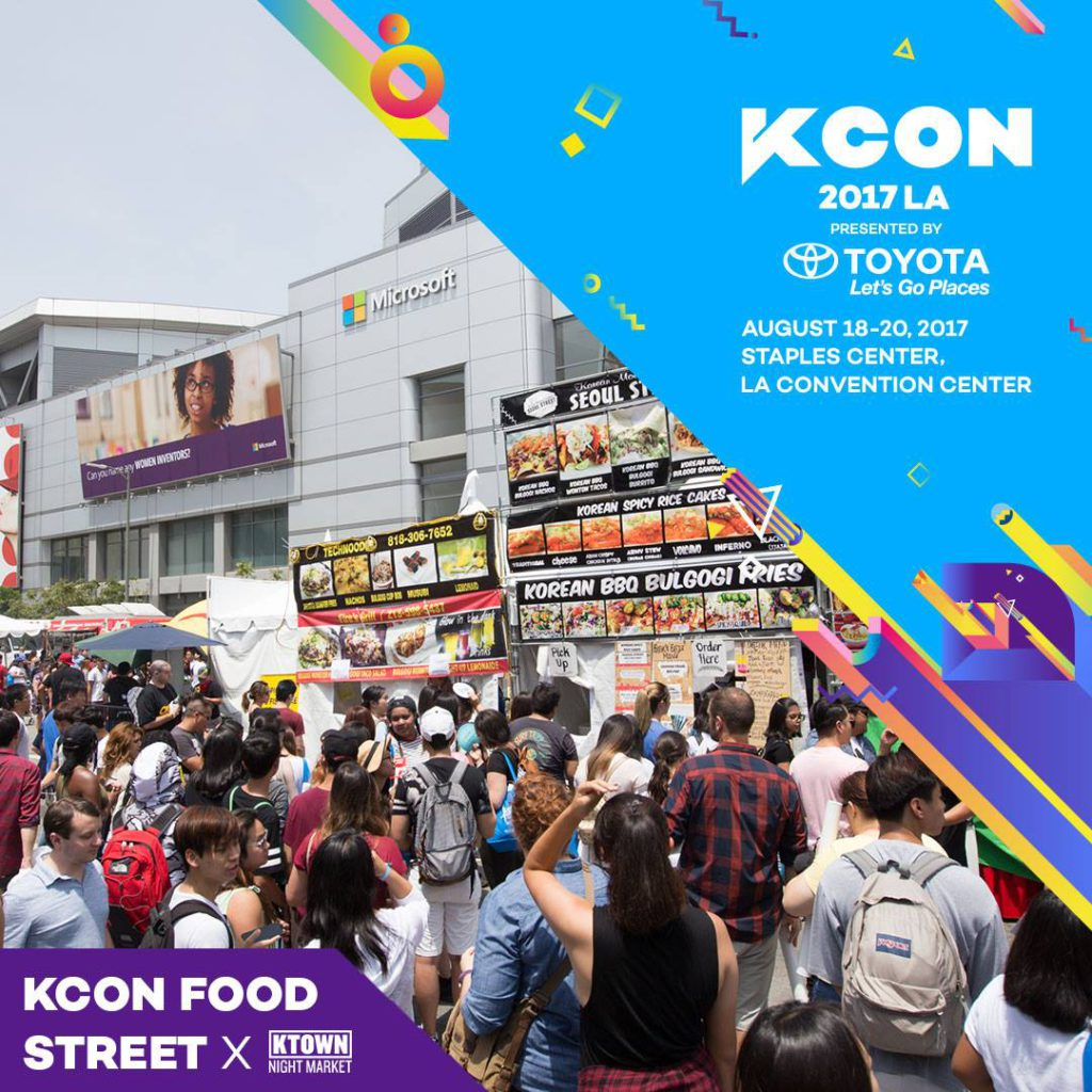 KCON17LA] KCON Food Street by KTOWN Night Market - KCON USA OFFICIAL