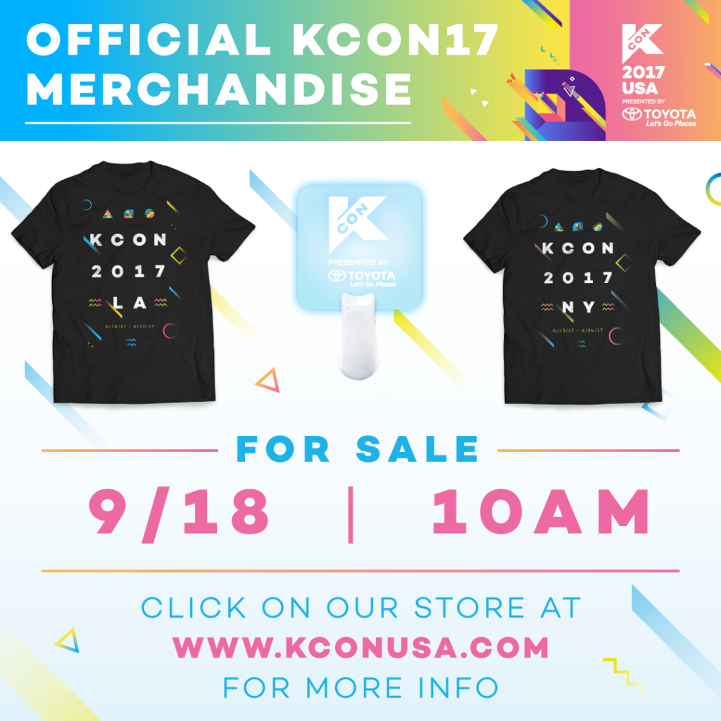 5f19b8cb4 KCON 2017 Official Merchandise - KCON USA OFFICIAL SITE