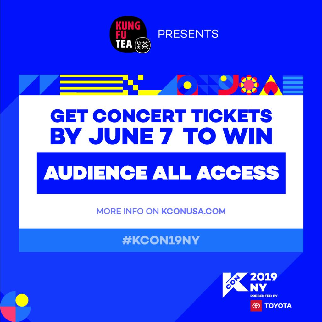 KCON19NY] Get Tickets & Win Audience All Access! - KCON USA OFFICIAL